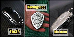 Araba Tutkunları Bayılacak! İşte Sahip Olmak İsteyeceğiniz Harika Otomobil Anahtarları