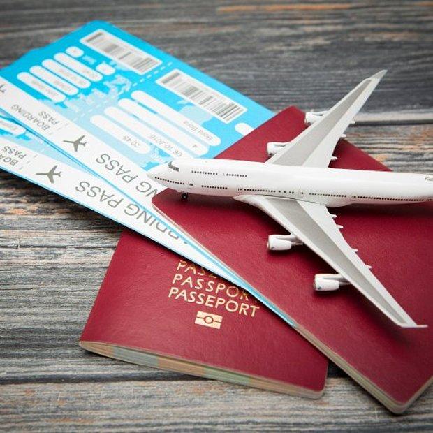 Yurt dışına iki uçak bileti!