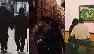 Elden Ele Yayalım! Twitter'da Yeni Akım Tesadüf Eseri Çekilen Romantik Çift Fotoğrafları
