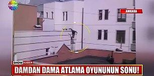 Rus Parkur Performansçısı Ankara'da Çatıdan Çatıya Atlamaya Çalışırken Hayatını Kaybetti!