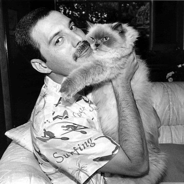 13. Hayvanları çok severdi ve özellikle kedilere çok düşkündü. Oscar, Tiffany, Goliath, Delilah, Dorothy, Miko, Romeo ve Lily isimlerinde toplam 8 kedi sahibiydi.