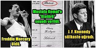 """Tarihte Bu Hafta Neler Oldu: Mustafa Kemal'e """"Atatürk"""" Soyadı Verildi, Freddy Mercury Öldü, Edison Ses Kayıt Cihazını İcat Etti!"""