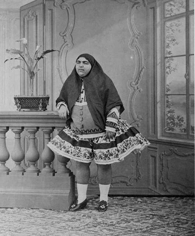 3. İran güzelliğinin sembolü Prenses Qajar!