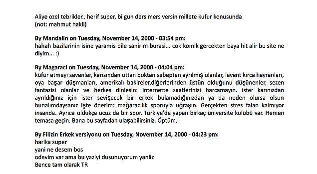 Bonus: Turkishmusic.org'daki efsane Sezen Aksu tartışması :)