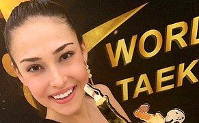 Dünya Tekvando Federasyonu Tarafından 'Yılın Kadın Sporcusu' Ödülüne Layık Görüldü: Tebrikler İrem Yaman!