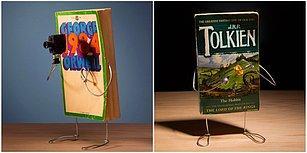 Eski Kitapların Üzerine Yapılan Tasarımlarla Kendi Hikayelerini Anlattığı Bu Çalışmaları Mutlaka Görmelisiniz!