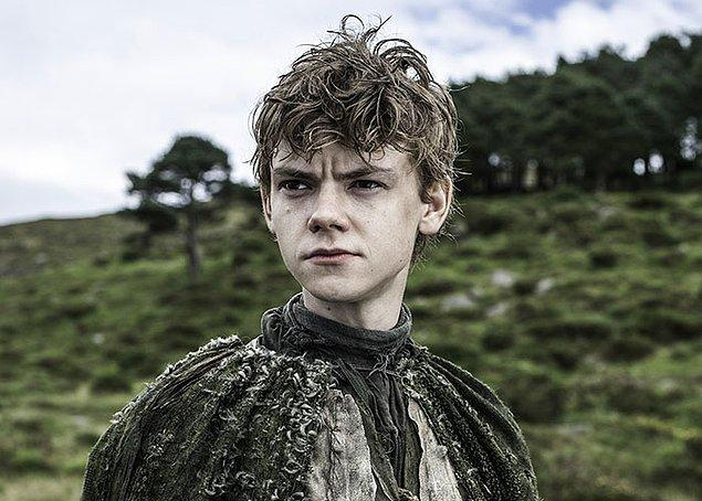 20. 13 yaşındaki Jojen Reed karakterini canlandıran Thomas Brodie-Sangster, kadroya seçildiğinde 22 yaşındaymış.