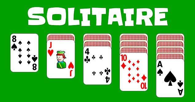 16. Sevilen ve sıkça oynanan Solitaire aslında oldukça ilginç bir sebepten dolayı bir oyun olarak tasarlanmıştı.