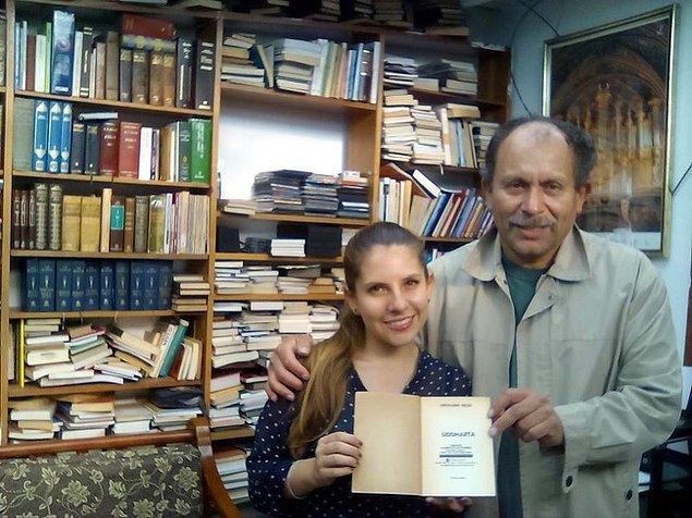 """6. """"Kütüphanesindeki kitapları ücretsiz olarak insanlara veren José'ye """"Kitapların Efendisi"""" deniliyor."""""""