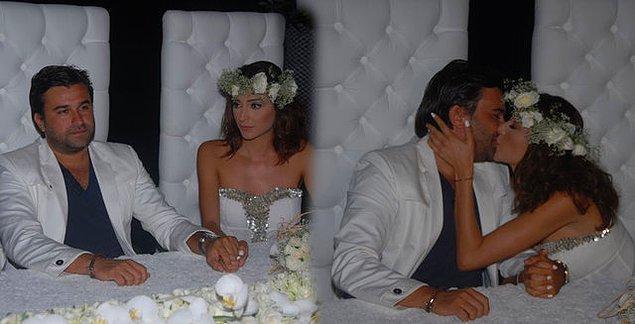 8. Özge Ulusoy ve Ferruh Taşdemir çiftinin evlenmesini istemeyen Ulusoy'un annesi düğünlerini basmıştı. Çift de ertesi gün boşanma kararı almıştı.