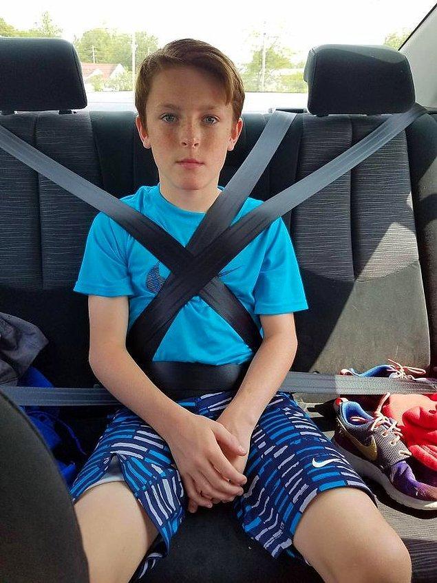10. Abiniz araba sürmeyi öğreniyorsa: