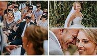 Görme Engelli Gelinin Yaşadıklarını Biraz Olsun Anlayabilmek İçin Düğünde Gözlerini Bağlayan Koca Yürekli Konuklar