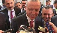 Gazetecinin Sorusuna Erdoğan'dan Gülümseten 'Yes' Yanıtı