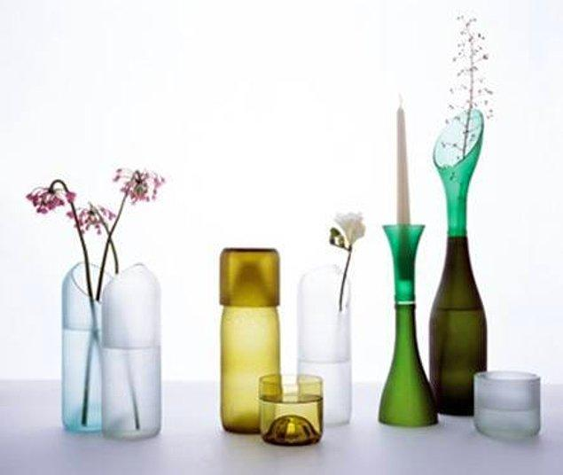 13. Eski vazolarınızdaki su lekelerinden  kurtulun.