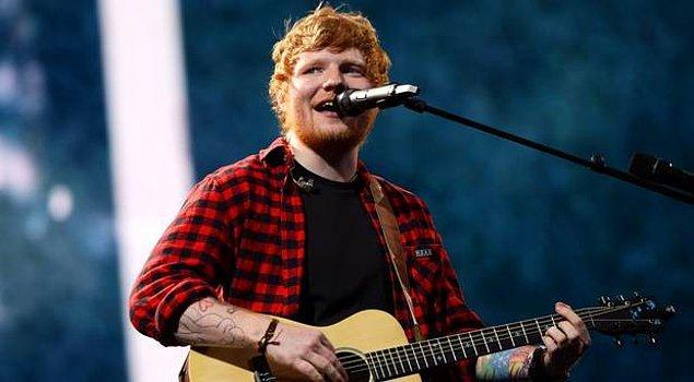 3. Ed Sheeran