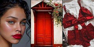 Kırmızı Tutkunları Buraya! Kırmızının Bir Renk Değil Yaşam Tarzı Olduğunun Kanıtı 15 Görsel