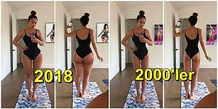 Yıllar İçinde Değişen Güzellik Standartlarını Fotoğraflayan Fitness Antrenörü!