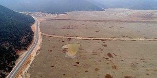 Artık Göçmen Kuşlar Pas Geçiyor: 850 Hektarlık Avlan Gölü, Futbol Sahası Kadar Kaldı