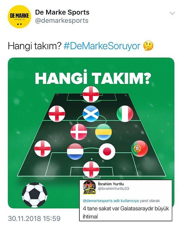 3. Galatasaraylıların gözü sakatlık simgesi gibi görüyor artık.
