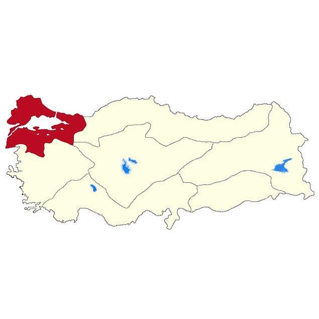 Marmara Bölgesi!