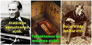 """Tarihte Bu Hafta Neler Oldu: Atatürk'ün Vasiyetnamesi Açıldı, Mısır Firavunu'nun Mezarına Girildi, Oscar Wilde ''Birimiz Gitmeli"""" Notuyla İntihar Etti!"""