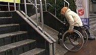 Denetim ve Duyarlılık Yok: Tek Başına Çıkmanın İmkansız Olduğu 'Göstermelik Engelli Rampaları'