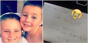 Cennette Olduğunu Düşündüğü Babasına Mektup Yollayan 7 Yaşındaki Çocuğa Postacının Göz Yaşartan Sürprizi