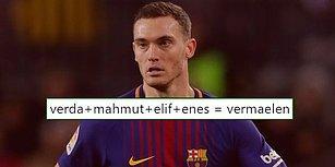 Barcelona Başlattı Gerisi de Geldi! İsim Kombinasyonlarıyla Barcelona Futbolcularının Adlarını Üreten Twitter Kullanıcıları