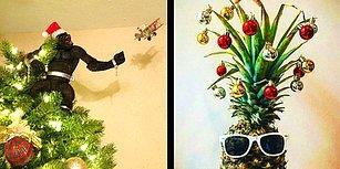 Yeni Bir Yıl Yaklaşırken Yüzünüze Sıcacık Bir Gülümseme Getirecek 18 Noel Ağacı
