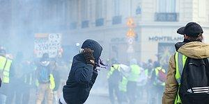 Sarı Yelekliler Direnişi Sürüyor: Fransa Sokaklarından Objektiflere Yansıyan 23 Kare