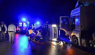 Çanakkale'de işçileri Taşıyan Minibüs ile TIR Çarpıştı: 4 Ölü, 16 Yaralı
