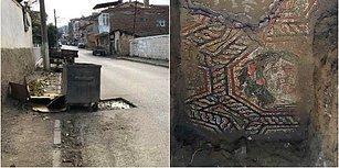 Ne Bitmez Çilesi Varmış: Roma Dönemine Ait Mozaik Çöp Konteyneri Altında