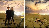 Tüm Dünya Bu Videoyu Konuşuyor: Mısır Piramidi Üzerinde Seks Yapan Çift!