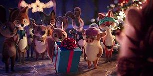 Tehlikeli Dikenlere Sahip Kirpinin Diğer Hayvanlarla Arkadaş Olmasını Anlatan Duygu Yüklü Noel Reklamı