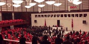 Burası Milletin Meclisi: TBMM Genel Kurulu'nda Kavga ve 'Has…tir' Sesleri