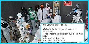 Sahneden Düşüp Hastanelik Olan Robot Mini Ada'yı ve Ziyaretine Gitmiş Arkadaşlarını Diline Dolamış 15 Goygoycu