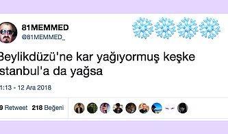 İstanbul'a Düşen İlk Kar Tanesiyle Goygoyun Dibine Vurmuş 15 Kişi