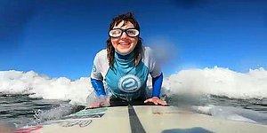 Azmiyle Sizi Kendine Hayran Bırakacak Görme Engelli Sörfçü: Carmen Lopez