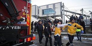 Ankara'da Yüksek Hızlı Tren ile ile Kılavuz Lokomotif Çarpıştı: 4 Ölü, 43 Yaralı
