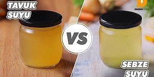 Mutfak Sırlarından En Sağlıklı Olanları: Tavuk Suyu vs Sebze Suyu Nasıl Yapılır?