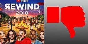 YouTube'un Rewind 2018 Videosu 'Dislike' Rekoru Kırarak Tarihe Geçti!