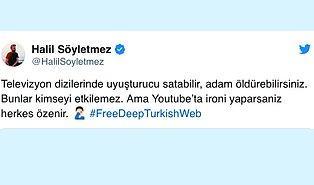 Gözaltına Alınan YouTuber'lar İçin Sosyal Medya Ayakta: #FreeDeepTurkishWeb