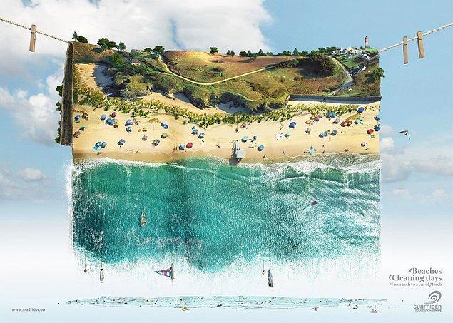 5. Özellikle yazın, plajlarımızın o korkunç görüntüsü...