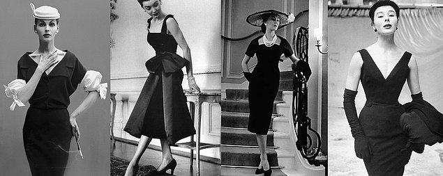 Yine o dönemde siyah, yasın rengi olarak kabul ediliyordu ama Coco ile birlikte şıklığın rengi haline geldi. Ve meşhur siyah minik elbise kavramını hayatımıza kattı.