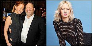 Jennifer Lawrence Kendisi İçin 'Benimle İlişkiye Girdi, Oscar Kazandı' Diyen Yapımcı Harwey Weinstein'i Yalanladı!