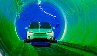Elon Musk'ın İnşa Ettiği Devasa Yer Altı Tünelinde Araçlar 250 Kilometre Hızla Gidecek