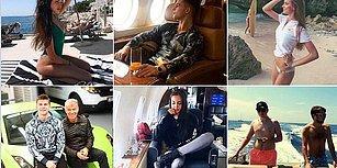Londra'daki Süper Zengin Rus Gençlerin Hayatı ve Lüks İçinde Boğuldukları Paylaşımlar