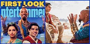 Disney'in Will Smith'li Live-Action Filmi ''Aladdin''den İlk Görseller Geldi!