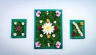Yapay Çiçeklerle Duvarları Yeşillendirdik! #güzelfikir