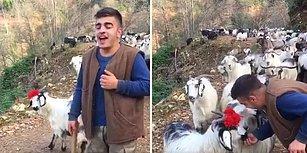 Rizeli Çobandan Muazzam 'Issız Kaldı Virane Dağlarım' Türküsü Performansı